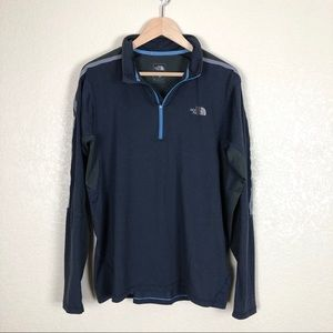 The North Face Light Pullover with 1/4 zip up